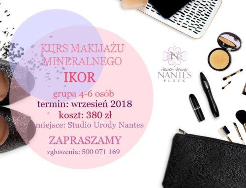 Kurs makijażu mineralnego IKOR